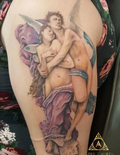 Angels Pair Tattoo
