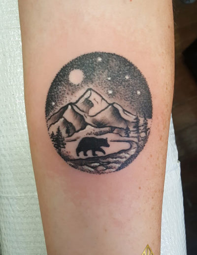 Bear Mountains Tattoo