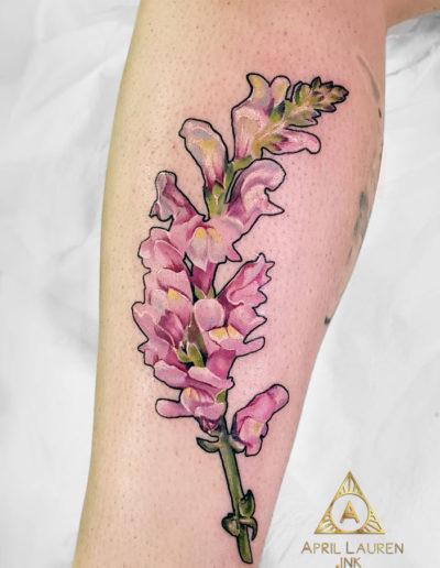 Flower Sprig Tattoo