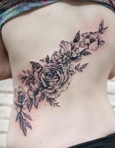 Rose Flowers Tattoo